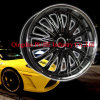 Replica Black Chrome Alloy Wheels (PJ1083)