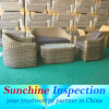 Wicker Furniture Quality Inspection Services / Pre-Shipment Inspection / Third Party Quality Control Services