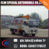 4 Ton/5ton Mobile Truck Mounted Crane Manufacture with Factory Price, Homemade Chassis Truck Crane for Sale