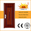 Economical Factory Sale Exterior Front Stainless Steel Door (SC-S003)
