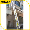 3 Section Aluminum Telescopic Firefighting Ladder with GS Approval