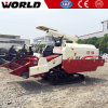 Rice Harvest Machine with Axial Flow Threshing System