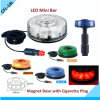 LED Mini Bar with Red, Yellow, Blue, Green Color /Magnetic with Cigarette LED Warning Light Bar (CFL-18L)