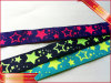 Yellow Stars Design Jacquard Tapes Woven Tapes