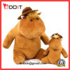 Girls Boys Soft Sitting Plush Animal Hippo Set Toy