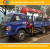 Foton Light Telescope Straight Arm Crane Mounted Wrecker Truck