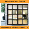Black Color UPVC Door with Special Design