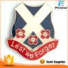 Scottish Scotland Poppy Lest We Forget Badge Poppy Badge