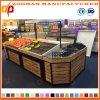 Metal Wooden Supermarket Vegetable and Fruit Display Rack Units Zhv83