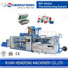 Automatic Plastic Cup Thermoforming Machine for PP/Pet/PS Material (HFTF-80T)