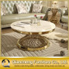 Modern Model White Marble Good Price Round Coffee Table