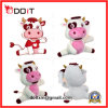 OEM Chinese Custom Made Plush Toy Cow with Certificates
