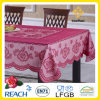 PVC /Vinyl Plastic Color Lace Tablecloth Ready Made