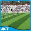 V Shape Soccer Artificial Grass Field Green Sand Base