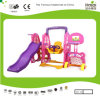 Kaiqi Cute Toddler′s Slide and Swing Set (KQ50133K)