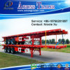 3 Axle 45-50 Tons Container Flatbed Semi Trailer (suitable for 20 feet & 40 feet container) (LAT9380TJZG)