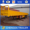 3 Axle Knock Down Side Wall Panel Cargo Semi Trailer