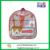 Fashion Popular Clear PVC Kids Backpack School Bag