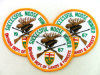 Hot Fashion Design Custom Garment Patch Embroidered