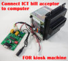 Pulse Type Coin Acceptor Bill Acceptor to PC RS232 Adapter Board