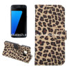 Leopard Flip Leather Case for Samsung Galaxy S7