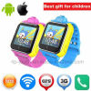 2017 3G/WiFi Portable Kids GPS Tracker Watch with Real-Map D18