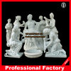 Bathing Statues Itlian Marble Sculpture Hotel Stone Sculpture