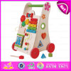 2015 Attractive Appearance Wooden Push Walker Toy, Top Grade Creative Kid Walker Toy, Multifunction Baby Wooden Walker Toy W16e033