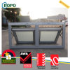 PVC Frame Casement Window, UPVC Top Hung Window