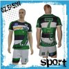 100%Polyester Sportswear Sublimation Printing Rugby Jersey