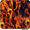 Width 1 M Flame Design Aqua Print Hydrographic Film&Tskh135-1