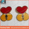 Factory Wholesales High Quality Red Heart Metal Pin Badge