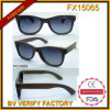 Fx15065 Handmade High Quality Bamboo Wood Sunglasses with Custom Brand