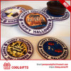 Halloween Round Ceramic Cork Coaster with Sublimation for Promotion
