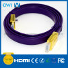 Flat HDMI Cable 19 Pin Plug-Plug Cable for 4K & HDTV