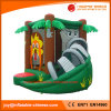 Inflatable Jumping Moonwalk Jungle Bouncer with Slide (T3-142)