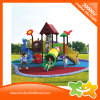 Colorful Outdoor Children Interaction Toys Amusement Park Slide for Kids