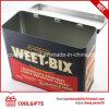 Food Grade Cookie Snack Metal Package Rectangular Tin Box
