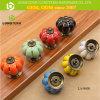 North American Popular Differert Color Cabinet Ceramic Pumkin Knob