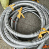 Dn25 Convoluted PTFE Hoses Crimped with Flanges