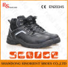 Cow Split Leather PU Sole Woodland Safety Shoes (RS5850)