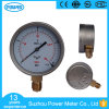 100mm 160 Mbar Low Pressure Gauge with Customized Range