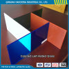 Thick 6.38mm Clear Laminated Glass with Color PVB Film