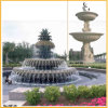 Hand Carved Stone Fountain, Outdoor Garden Water Fountain (YKOF-17)