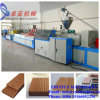 Green WPC Wood Plastic Outdoor Decking Making Machine