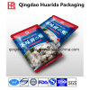 Plastic Frozen Sea Food Packaging Bag with Tear Notch