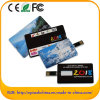 Wholesale Customize Logo Credit Card Pen Drive Flash Drivefor Free Sample (EC003)