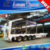 80-100tons 4 Axles Lowbed Semi Trailer for Crane Transport