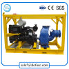 Horizontal End Suction Large Volume Water Pump with Engine Set