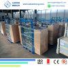 Custom Cut Size and Shape Balcony Railing Design Glass